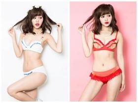 EVA 週邊商品無極限,推出三款女主角內衣