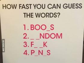 快來挑戰!6 組英文單字測試你的邪惡程度