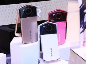 歷代最薄 + 粉嫩美顏,Casio 自拍神器 TR70 上手玩