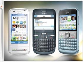 Nokia 發表 QWERTY 三機:C6、E5、C3