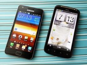 Sensation vs. Galaxy S II (下):影音、介面