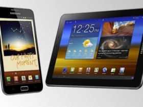 三星 5.3 吋強機 Galaxy Note、Tab 7.7 新平板