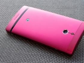 超美艷 Sony Xperia P 粉紅新色寫真