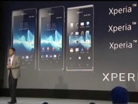 Sony 新機四連發:Xperia TX、T、V、J