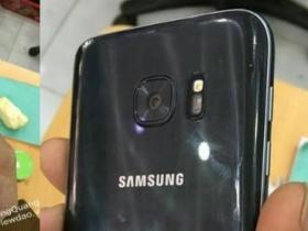 火山口消失:三星 Galaxy S7 首度現蹤