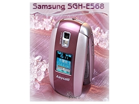 柔嫩珠光!Samsung SGH-E568 超 Sweet