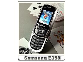 新貨入荷! Samsung E358 輕巧靈動滑蓋機