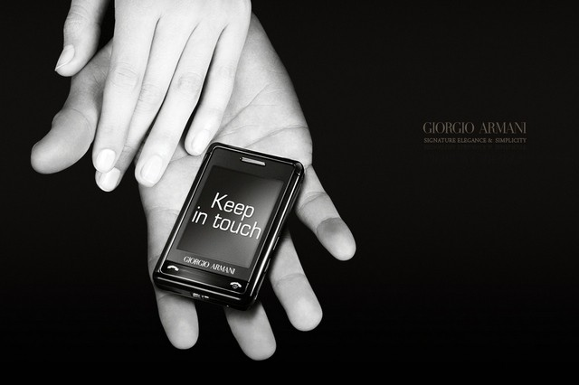 【歷史上的今天 2008/03/21】Giorgio Armani-Samsung 精品機