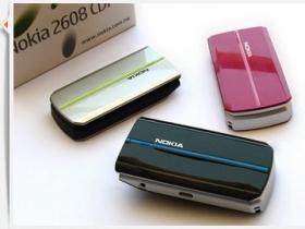 好看就愛現! Nokia 2608 CDMA 三色實測