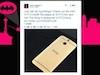 美國電訊商 CEO !網上曬 24K 金 HTC One (M8)
