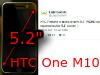 傳 HTC M10 改用 5.2 吋螢幕,網友是否收貨?